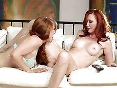 Big Boobs, Lesbian, MILF, Redhead