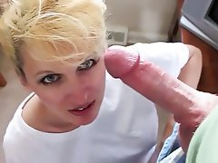 Amateur, Blowjob, Cum in mouth, Mature