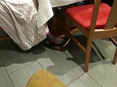Foot Fetish, MILF, Pantyhose