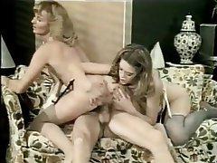 Blowjob, Threesome, Big Boobs, Vintage
