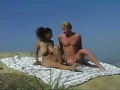 Masturbation, Arab, Outdoor, Saggy Tits