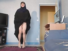 Upskirt, Big Boobs, MILF, Arab