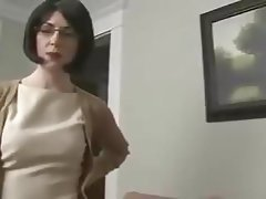 Blowjob, Brunette, MILF, Husband