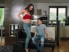 Jeans, Teen, Shaved, Blowjob