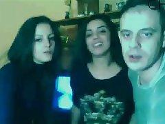 Amateur, Spanish, Threesome, Webcam